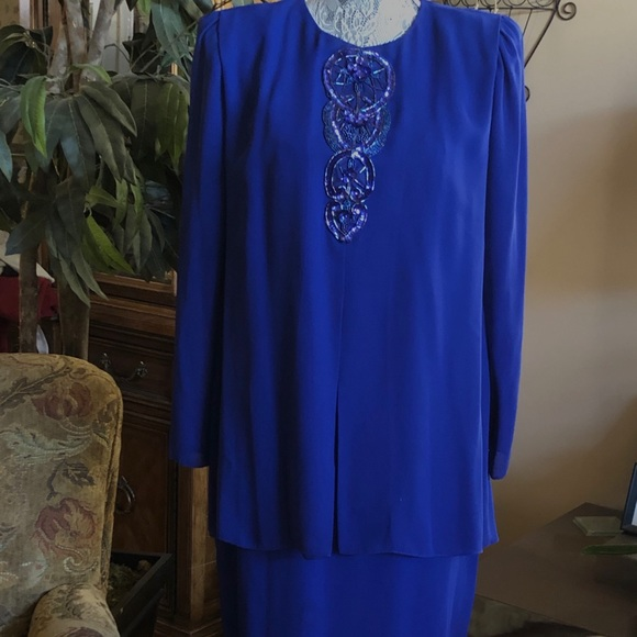 Ursala Dresses & Skirts - Woman's Formal Dress-Size 12-Royal Blue